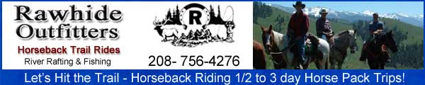Idaho Horseback Riding Trails with Rawhide Outfitters