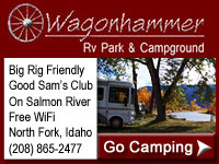 Wagonhammer RV Park & Campground in North Fork Idaho