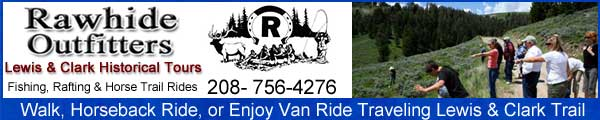 Lewis and Clark Van or Horseback Riding Tours with Rawhide Outfitters