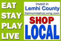 Shop Local Salmon Idaho and Lemhi County